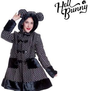 Hell Bunny Mika Coat Hell Bunny Jacket